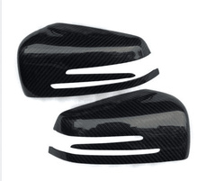 Carbon Fiber Mirror Rearview Cover Full Mercedes Benz C Class W204 2010-2013 - Jianwu Han's store
