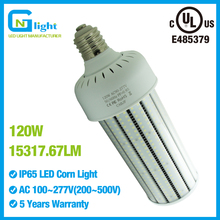 120W LED Corn Bulb Industrial Lighting High Bay Light Parking lot E27 E40 Corn Light Factory lighting