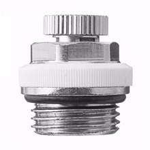 Mayitr Copper 1/2'' Fully Automatic Air Vent Valve Accessory Part For Venting Heating Radiator(China)