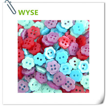 50pc WYSE brand pearl buttons mixed fisheye heart plum resin polyester MOP pearlized buttons for apparrel shirt DIY scrapbooking(China)