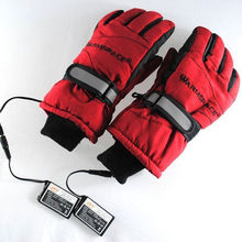 3.7V/2000MAH Electric Heating Gloves,Outdoor Sport Ski Motorcycle Lithium Battery Self Heated Gloves,Warm 3 hours(China)