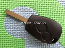 1pcs of New Replacement key Cover For Renault Clio Modus Master Twingo 2 Button remote key FOB blank shell VA-2 key Blade