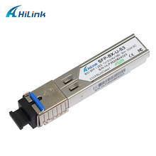 ahilnk 1G 1000BASE Single Fiber LC/SC BiDi 1.25G Tx1310nm/Rx1550nm 3km WDM SFP with DDM Function(China)