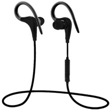 New Bluetooth V4.1 Headphone Wireless Earphone Sport Fitness Ear Hook With Micro Earbuds Handsfree For Iphone 7 6 Huawei Android
