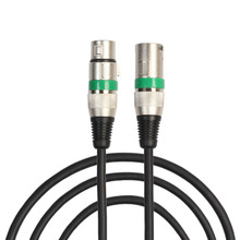 1M/1.8M Microphone Audio Connector 3pin XLR male to female mic microphone extension audio cable cord For Microphone Mixer