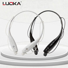 Buy Hot LUOKA 730 Wireless Bluetooth Headset Sports Bluetooth Earphones Headphone Mic Bass Earphone Samsung iphone LUOKA730 for $6.56 in AliExpress store