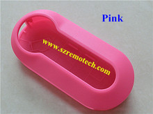 Fiat 3 button remote key cover pink color /replacement key shell key blank(China)
