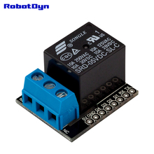 Contact Relay shield for WiFi WeMos D1 mini, with pin-headers set. For AC 110/220V, DC 30V(China)