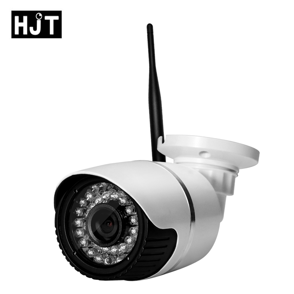 Wireless Wifi HD 720P 1.0MP IP Camera Bullet Audio Micro SD Card Network CCTV outdoor Security IR Night Vision Motion detecting<br>