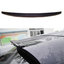 carbon fiber car rear roof lip spoiler wing for Porsche Macan 2014 2015 Car Cover(China)