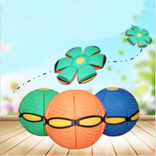 Flying UFO Flat Throw Disc Ball Toy Kid Outdoor Garden Beach Game Throw Disc Ball Toy Fancy Soft Novelty Flying UFO Flat toy