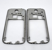 New for Samsung Galaxy S4 i9500 i9505 i9506 Repair Middle Plate Frame Bezel Housing - silver color(China)