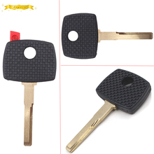 KEYECU Replacement Transponder Key Shell Case Fob for Mercedes Benz HU64 Uncut W/O Logo(China)