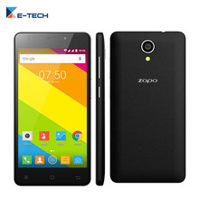 Original  Zopo C2  Smartphone 5.0 Inch IPS Screen MT6580 Quad Core 1G RAM 8G ROM 1280*720 Android 6.0 Unlocked 3G Mobile Phone