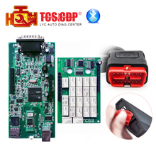 Double Green PCB tcs pro ds cdp 150 tcs cdp Bluetooth 2014R2 keygen 2015.3 with keygen in CD OBDII cars trucks diagnostic tool