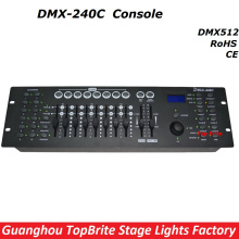 2017 Free Shipping High Quality DMX240 Controller DMX 512 Dj Disco Console Equipments For Stage Party Wedding Events Lighting