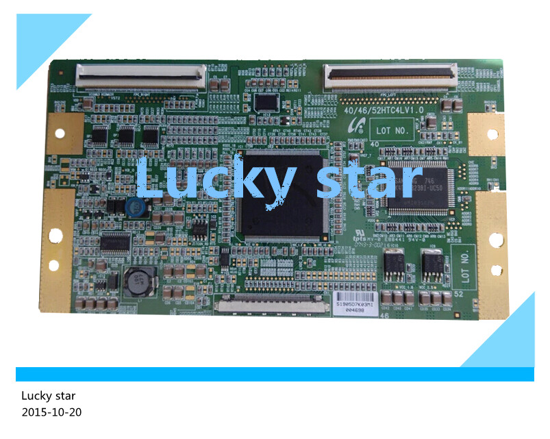 good working High-quality for original 98% new for board 40/46/52HTC4LV1.0 LTA460HT-LH2 T-con logic board 2pcs/lot<br><br>Aliexpress