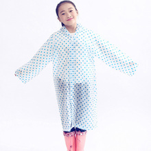 Hot Selling Poncho Kids Rain Coat Waterproof Student Rainsuit Children Raincoat Single Person Rainwear Rain Gear