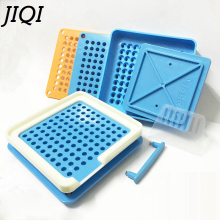 JIQI 100 Holes Manual Capsule Filling Machine #1 Pharmaceutical Capsules Maker for DIY medicine Herbal pill powder Filler Size 1(China)