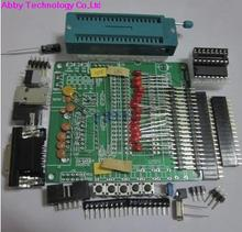 51/AVR microcontroller development board DIY learning board STC89C52 the learning board kit suit the parts