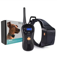 Remote Controlled Dog Training Collar 600Meters Blind Operation Waterproof TPU Dog Collars with Tone / Vibration / Static Shock