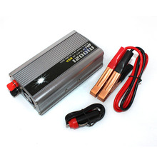 1200W Car Inverter Auto Power Supply Converter DC 12V to AC 110V Modified Sine Wave Transformer USB charger adapter