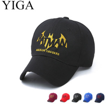 YIGA 2017 NewFashion Batman Baseball Cap Hat All season Casual Letter embroidery Caps adjustable wholesale(China)