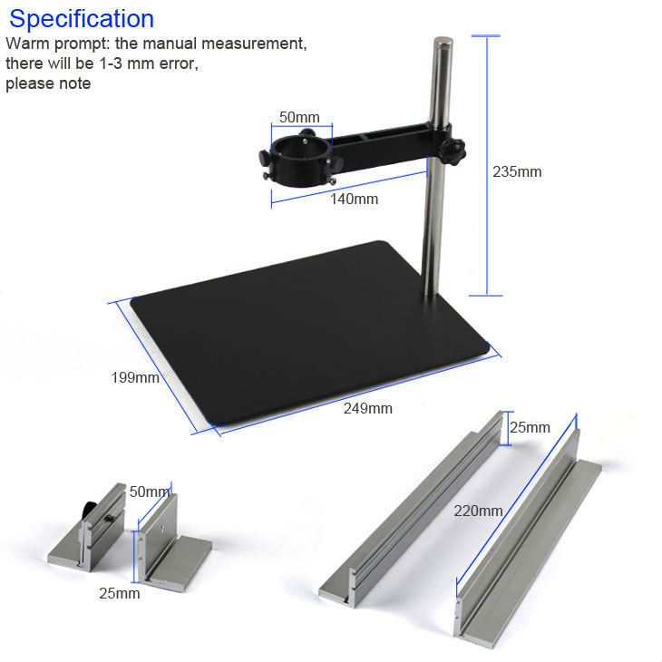 YIHUA-628 Soldering Station Metal Shelving Bracket, support bracket<br>