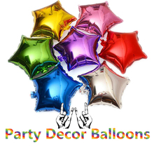 5 pcs 18 inch Foil Star Balloon Helium Metallic Birthday Party Wedding Decor Summer Outdoor Inflatable Balloon Wholesale 30JY7