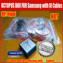 100% Original Octopus Box with 18 Cables for Samsung/Unlock&Flash&Repair IMEI/EFS Mobile Phone(China)