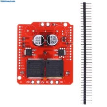 Integrated Circuits monster moto shield vnh2sp30 stepper motor driver module high current 30A arduino - TxHang Store store