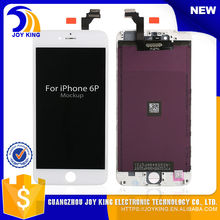 5 pcs / lot fast delivery free shipping china alibaba wholesale cheap price for iphone 6 plus lcd digitizer 100% Guarantee(China)