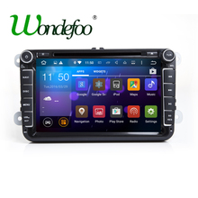 Android 7.1.2 RAM 2G 2 DIN Car DVD player For VW Passat POLO GOLF Tiguan CC Skoda Fabia Rapid Yet Seat Leon GPS Radio screen(China)