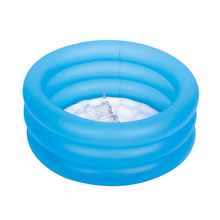 64*22cm summer baby child swimming pool play pool inflatable pool inflatable bottom 3 ring pvc water play kid toy B31001(China)