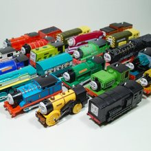 Buy wholesale Children child boy girl toy gift Thomas friend Trackmaster engine Motorized train for $10.99 in AliExpress store