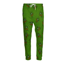 3D Pepe Joggers Men/Women  Funny Cartoon Sweat Pants Fashion Clothing Sweatpants Autumn Fall Winter Style Trousers Dropshipping