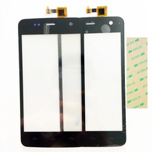 4.7 Inch Touchscreen For Explay Vega Touch Screen Digitizer Front Glass Touch Panel Replcement Black Color+3M Sticker