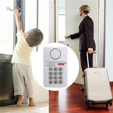 Security Keypad Door Alarm System With Panic Button For Home Shed Garage Caravan Hot Sale