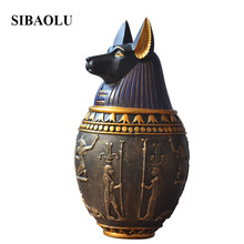 Feng Shui Egypt Decoration Crafts Egypt Ornaments Home Accessories Takagisms Tank Storage Tank Home Decoration Figurines Crafts