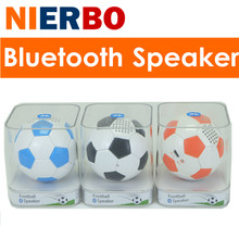 Portable Speaker Wireless Football Waterproof Stereo 3D Sound System Subwoofer Mobile Phone Projector Computer Audio Receiver