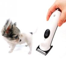 Electric pet hair trimmer cordless hair clipper grooming haircut machine for dog cats hair cutter