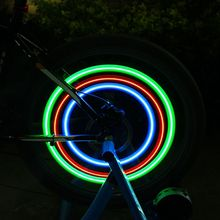 1Pcs Bike Light Bicycle Cycling Spoke Wire Tire Tyre Wheel Light Lamp Colorful