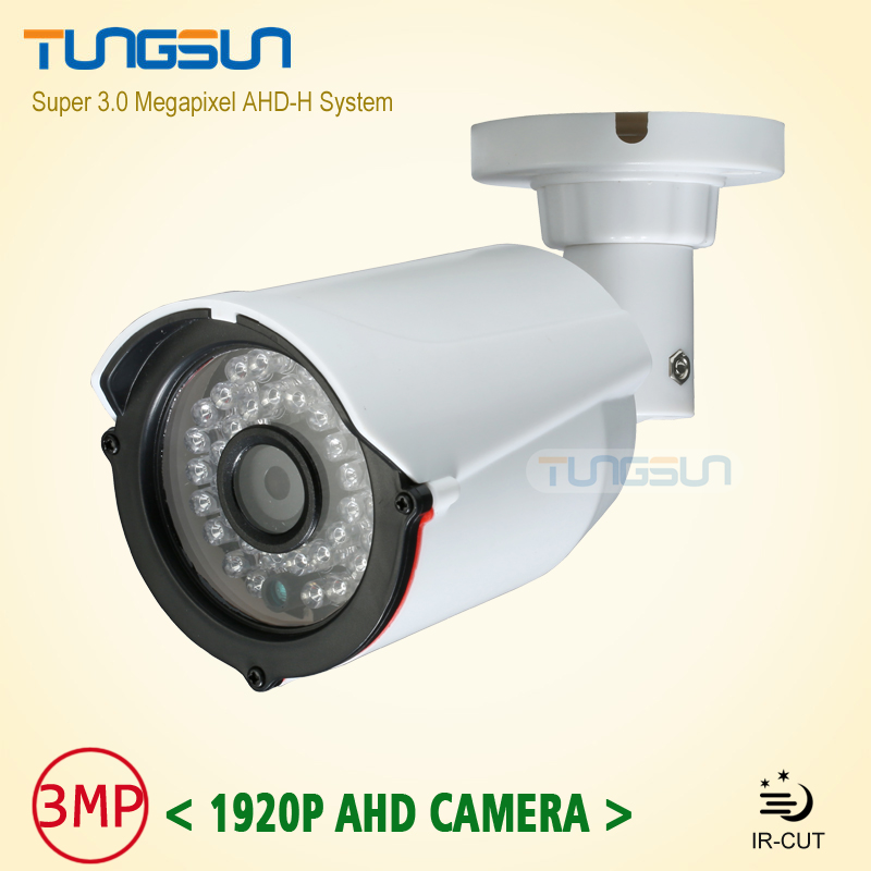 Super New 3MP IMX322 ahd-h System Mini HD Security Camera Outdoor White Small Bullet 1920*1080P indoor AHD Surveillance Camera<br>