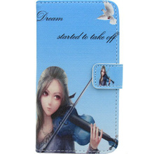PU Leather Case Cover Card Holder Mobile phone Bag Pouch Skin Protector Flip WA For Samsung Galaxy i8700 Omnia 7