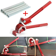 1pc 3in1 Tube Pipe Bender 180 Degree Tubing Bending Tool with 5pcs Spring Bending Tube For Power Tool Accessories(China)