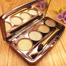 Shiny Brighten Diamond Eyeshadow  Pallete Nude Makeup Flash No Perfume Delicate Natural Minerals Glitter Eye Beauty Tools