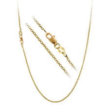 "JEXXI 1PC Nice Accessories Findings 16""-30"" Necklace Chains O Genuine  Gold Filled Link Rolo Chain+Lobeter Clasp Pendant Cheap"