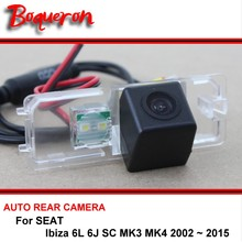 For SEAT Ibiza 6L 6J SC MK3 MK4 2002 ~ 2015 Car Parking Back up Camera / Rear View Camera / HD CCD Night Vision Reversing Camera