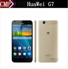Original HuaWei Ascend G7 4G LTE Mobile Phone MSM8916 Quad Core Android 4.4 5.5 Inch IPS 1280X720 2GB RAM 16GB ROM 13.0MP