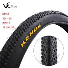 KENDA bicycle tire 26 tyres 26*1.95 2.1 27.5*1.95 ultralight MTB mountain bike tires for 27.5 wheels to bike accessories K1153